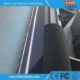 Sinal interno do painel do diodo emissor de luz da cor P10 cheia para o estádio de futebol