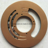 Placa da válvula da bomba hidráulica da mini máquina escavadora de KOMATSU (PC40)