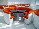 مطعم حديثة يتعشّى مقصورة أريكة تصميم ([أول-لس031])