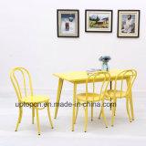 (SP-CT776) Мебель кафа трактира обедая таблицы стула круглой задней части установленная