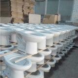 Туалет 9011 хозяйственный круглый Siphonic двухкусочный керамический