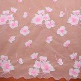 Ткань шнурка ткани ткани вышивки материальная для платья венчания Bridal