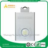 réverbère solaire Integrated de 12W DEL pour le système de d'éclairage de parking de ville