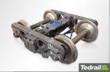 中国の製造業者の柵の圧延素材の狭いゲージのボギー