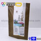 La taille a personnalisé le sac stratifié par riz d'empaquetage en plastique de PA avec le traitement