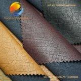 Qualität PU-Leder für Kleid mit dickflüssigem Schutzträger