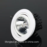 Grande Power 35W Tilt Spotlight LED Downlight para iluminação interior