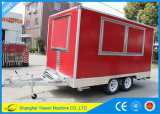Ys-Fv390b 3.9m Red de alta calidad Sandwich Panel Hot Dog Carros Vans para la venta
