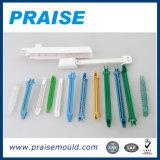 Molde médico da seringa da injeção plástica quente do corredor