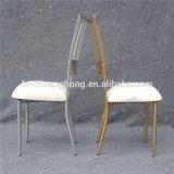 Ouro novo da venda por atacado do estilo 2017 e cadeira de empilhamento branca do casamento para o evento e o banquete (YC-A396)