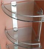 Panneau d'étagère en verre avec En12150