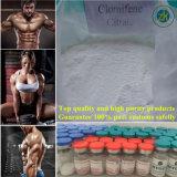 Materia prima farmaceutica di vendita 99.5% del fornitore di GMP di Clomiphene del citrato del citrato caldo di Clomid Clomifene