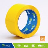 Cinta adhesiva adhesiva del embalaje del color amarillo BOPP