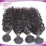 最上質の加工されていなく自然な波のペルーのバージンのRemyの毛