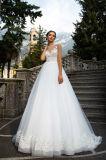 Jasmin eine Zeile mehrschichtige Hochzeits-Kleider mit dem Fishbone