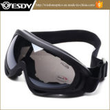 Vetri tattici del motociclo degli occhiali di protezione di protezione della polvere del vento del X.400 di Airsoft di caccia