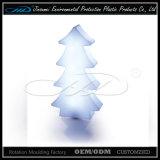 Colore moderno di plastica materiale del PE che cambia l'indicatore luminoso dell'albero di Natale del LED