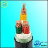 Câble isolé et protégé de PVC de cuivre de conducteur de commande de câble de transmission