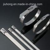 316 cintas plásticas do aço inoxidável
