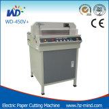 Cortadora de papel profesional del fabricante 450m m de China pequeña (WD-450V+)