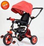 고품질 유럽 기준 (CA-BT304)를 가진 호화스러운 아기 세발자전거
