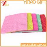 Esteira colorida do silicone da qualidade de Higt/esteira Non-Slip do silicone