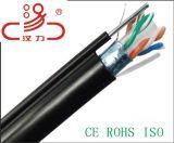 Cavo dell'audio del connettore di cavo di comunicazione di cavo di dati del cavo del cavo CAT6/Computer della rete via cavo di lan