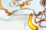 L'usine Digital directe de Hangzhou estampée conçoivent l'écharpe en soie