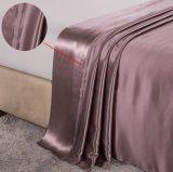Conjunto determinado de la hoja de la seda de mora de la elegancia de la nieve de Taihu de la serie de Oeko-Tex 100 de cama del lecho de lujo verdadero inconsútil de seda estándar de seda de ropa 19momme