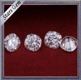 Diamante sintetico bianco di Moissanite di vendita 9X9mm dell'ammortizzatore formato caldo di figura di grande