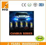 Bulbo de la linterna de la alta calidad 4000lm H4 LED con diseño de la disipación de calor del ventilador