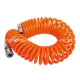 Orange Polyurethan-Rückzug-Schlauch (10*6, 5m, 15M)