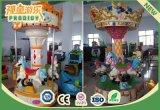 Carrusel de interior al por mayor 3player de la fábrica mini para la diversión de los cabritos
