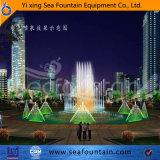 Fuente decorativa ligera profesional de la música del diseño LED del diseñador