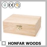 DIYのための良質の純木の収納箱の宝石箱