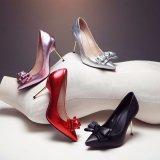 Горячая штемпелюя фольга для ботинок женщин