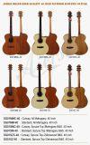 Aiersi chino fábrica nuevo de la venta al por mayor Guitarra Acústica Folk (SG01AM-40)