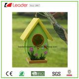 Hot-Sales Resin Birdhouse para decoração de pátio e jardim