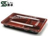 5개의 격실 처분할 수 있는 플라스틱은 음식 상자를 나른다