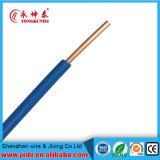 Le PVC à un noyau a isolé le fil électrique utilisé dans la construction et le boîtier