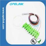 Gpon 의 Epon 원거리 통신 광섬유 1X2/4/8 PLC 쪼개는 도구