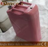 5L 10L 20L de Jerrycan van het Metaal van de Benzine van de Brandstof met Flexibele Spuiten