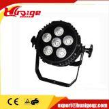 O diodo emissor de luz RGB DMX 512 DJ da PARIDADE 18*3W Truss luz movente das cabeças da iluminação; 6r6g6b (DIODO EMISSOR DE LUZ 3W)