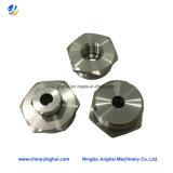 Металл высокой точности подгонянные/сталь/медный штуцер частей CNC подвергая механической обработке