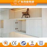 Meubles de chambre de bonne qualité Bibliothèque en aluminium Meubles de maison