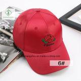2017 ragte neueste Rose Baseballmütze-Form die Stickerei-der Dame-Schutzkappe empor