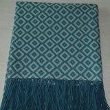 最も柔らかいMerinoウールのソファーの投球毛布