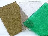 Ontruim Hard Waterdicht Polycarbonaat In reliëf gemaakt Comité