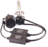 Iluminación principal del automóvil de las lámparas H4 de las piezas de automóvil LED con el enfriamiento del ventilador