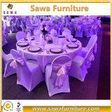 O banquete do casamento do hotel fornece a tampa da cadeira de Lycra da tela do Spandex